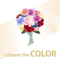 Surprise-Bouquet /  Colour Choice